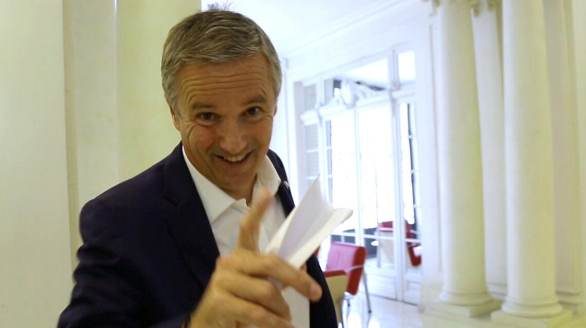 EMISSION GALA – Nicolas Dupont-Aignan: «Mon dernier fou rire, c'était en regardant les Tuche»