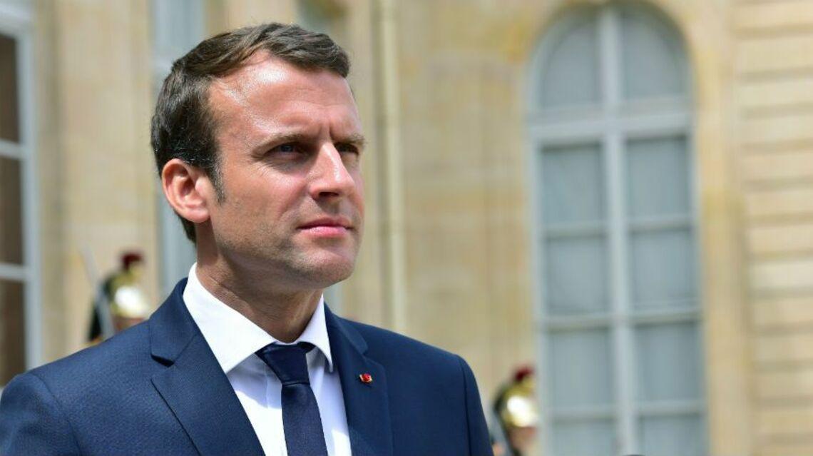 VIDEO – Emmanuel Macron, sans son épouse Brigitte, s'est envolé pour St Martin