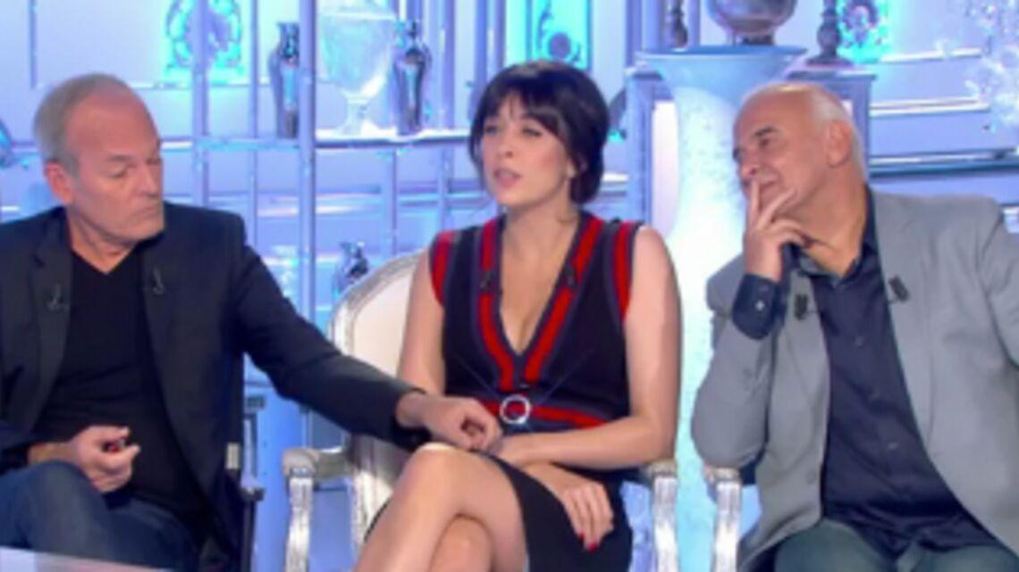 VIDEO – Laurent Baffie remonte la robe de Nolwenn Leroy dans Salut les Terriens!, les internautes choqués