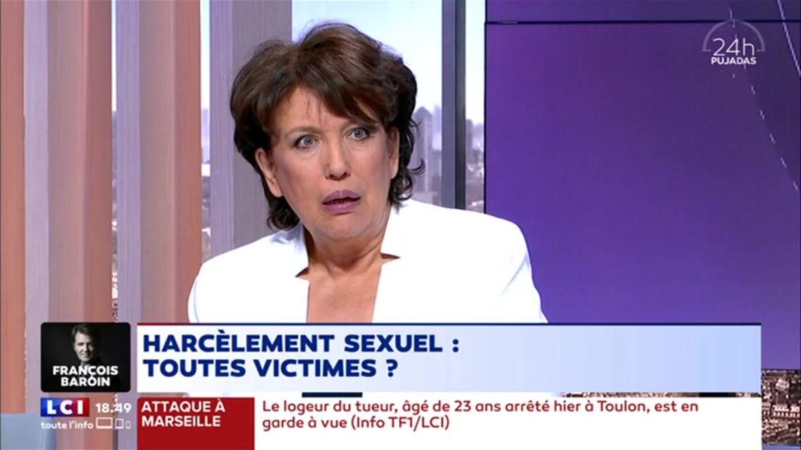 VIDEO – Roselyne Bachelot «en politique les jeunes hommes aussi sont victimes de harcèlement»