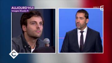 VIDEO – Grosse tension entre l'équipe de C à vous et Christophe Castaner, le porte-parole du gouvernement