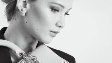 Jennifer Lawrence, les dessous de sa nouvelle campagne Dior