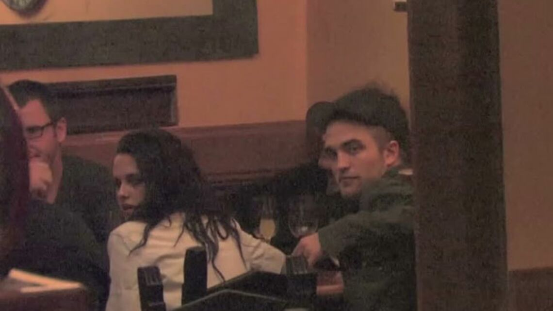 Exclu Gala- Kristen Stewart et Robert Pattinson en sortie à Paris