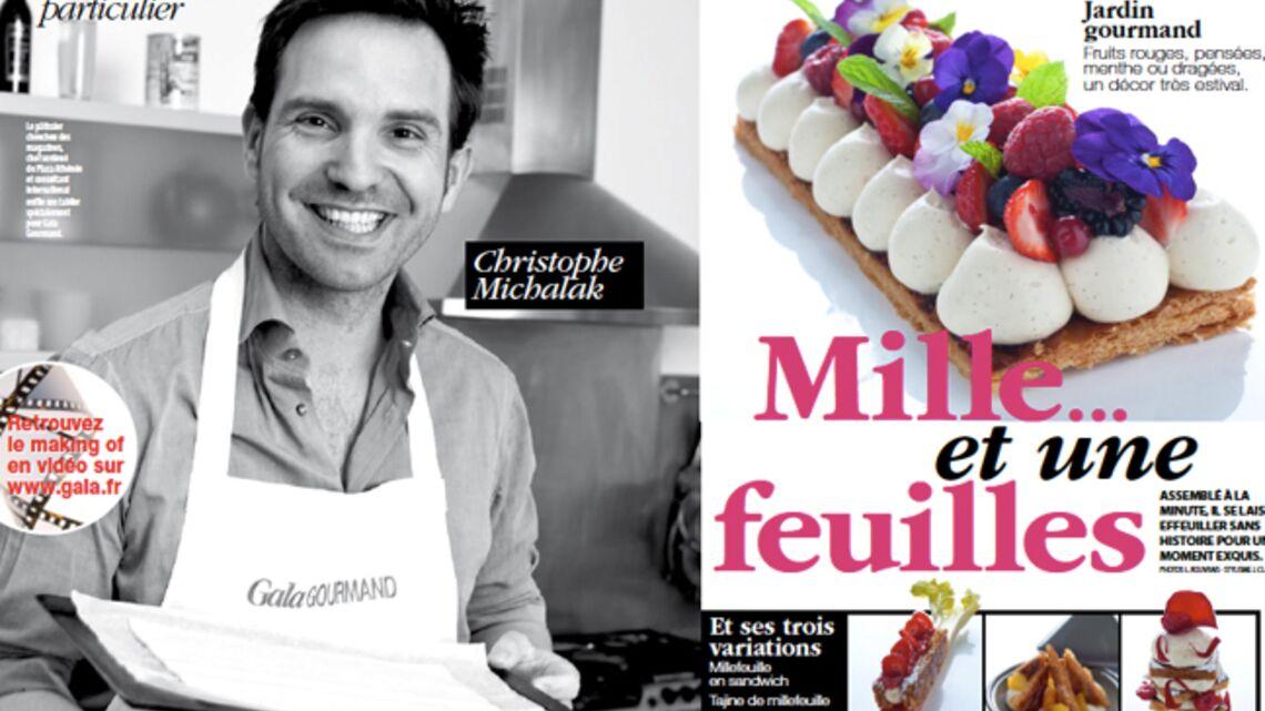 Le millefeuilles de christophe michalak gala - Cours de cuisine christophe michalak ...
