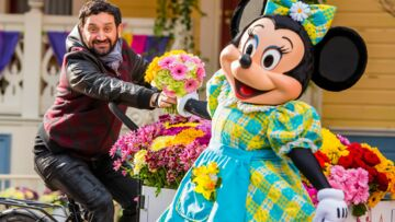 Cyril Hanouna, Marie Gilain… flower power à Disneyland Paris
