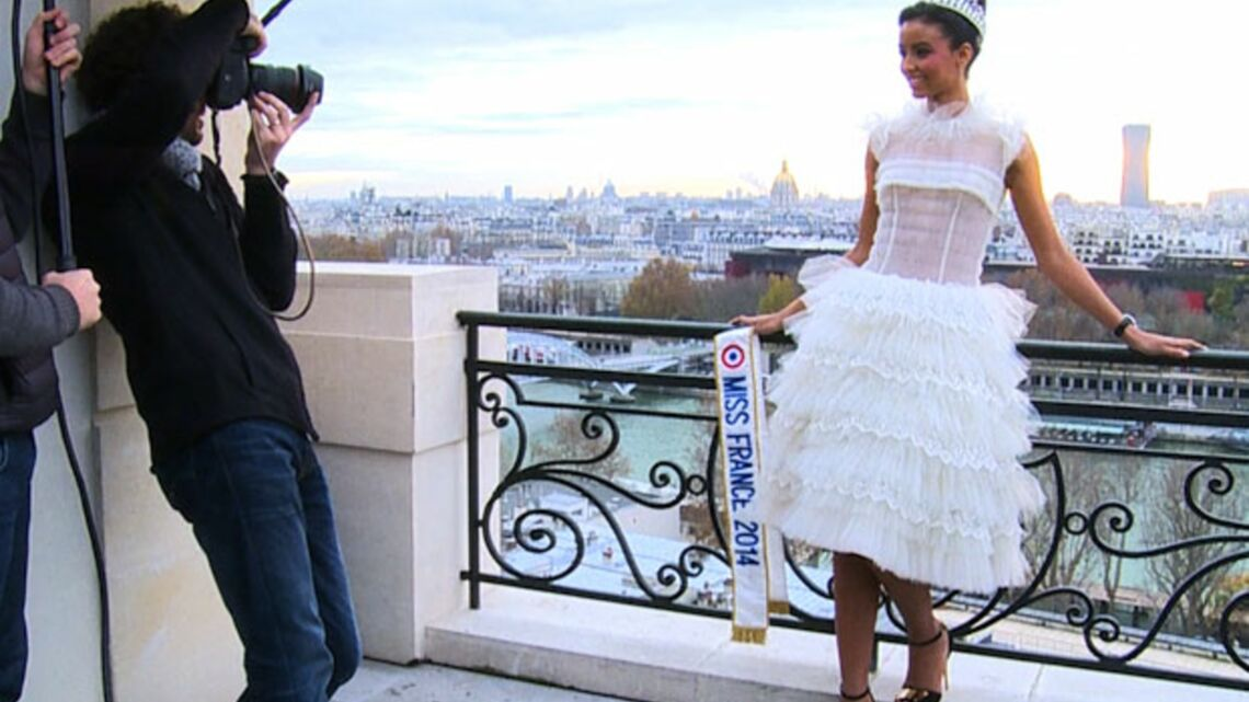 Vidéo- Miss France 2014 pose pour Gala