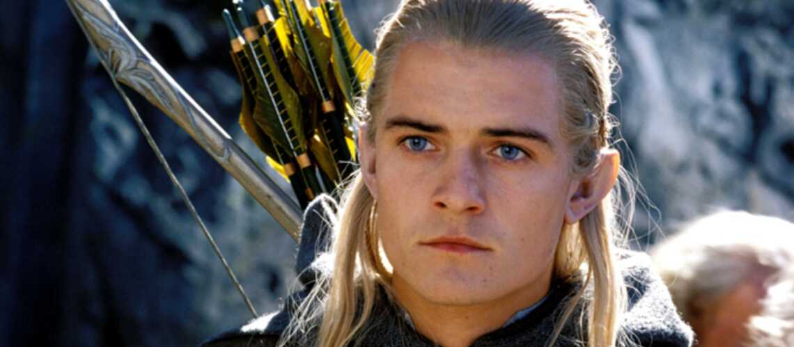 bébé volume grand professionnel de premier plan Vidéo- Orlando Bloom chante son au revoir à l'elfe Legolas ...