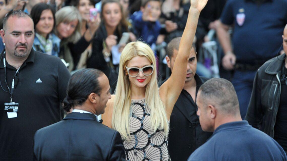 Vidéo- Paris Hilton, plus star que star à Cannes