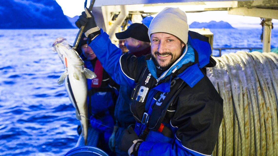 Vidéo- A la pêche avec le prince Haakon de Norvège