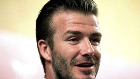 David Beckham A Toujours Du Nez Gala