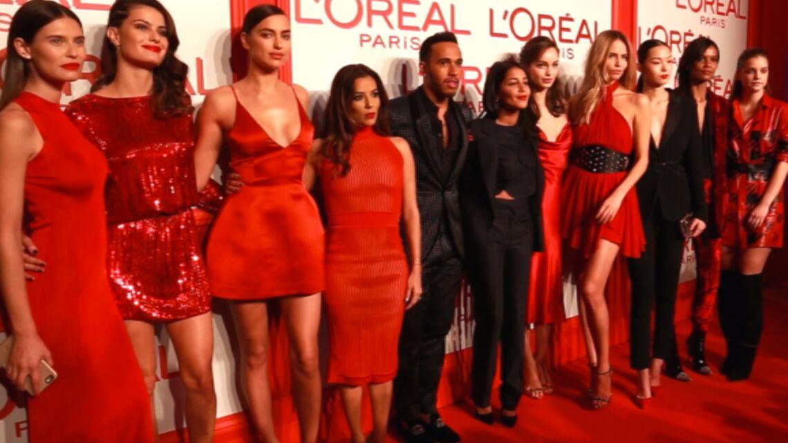 Vidéo – Eva Longoria et Lewis Hamilton vivent le Rouge