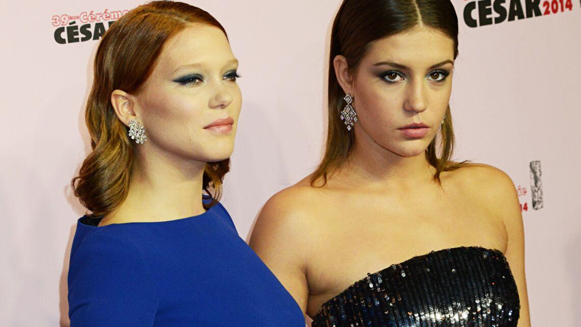 César 2014 – Adèle, Léa, Scarlett: le glamour sur tapis rouge