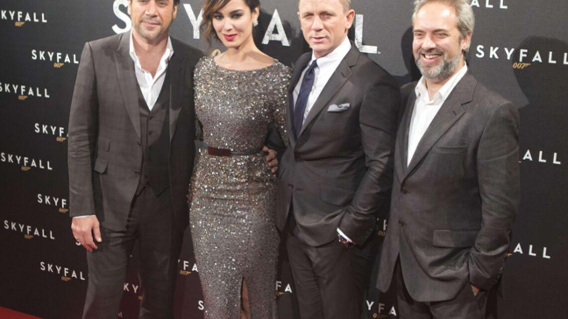 Vidéo- Skyfall: tapis rouge à Paris avec Daniel Craig et… Sophie Marceau