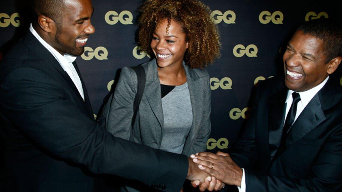 Gala By Night: Denzel Washington et Teddy Riner sympathisent à la soirée GQ