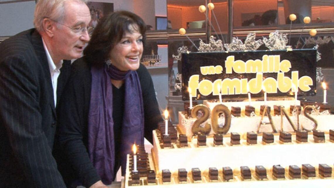 Vidéo- Anny Duperey et Bernard Lecoq fêtent leur famille formidable