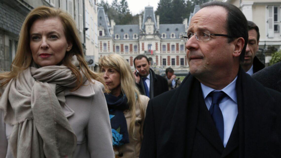 Vidéo- Valérie Trierweiler brusque un journaliste