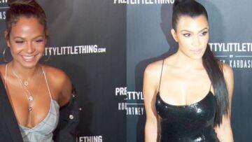 VIDEO- Kourtney Kardashian vs Christina Milian: le match des décolletés