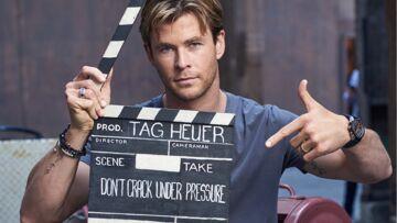 Vidéo – Chris Hemsworth ne craque pas sous la pression