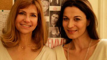 Vidéo – Dans la loge d'Hélène Médigue et Florence Pernel