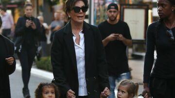 Vidéo – Kris Jenner emmène ses petites filles voir le père Noël
