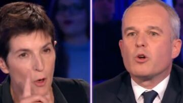 VIDÉO – ONPC: clash entre Christine Angot et François de Rugy, il défend fermement Emmanuel Macron