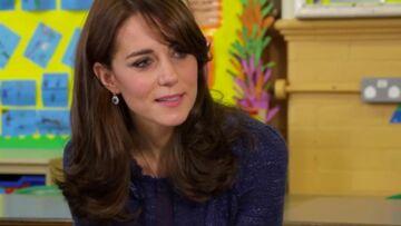 Vidéo – Princesse Kate s'engage pour la santé mentale des enfants