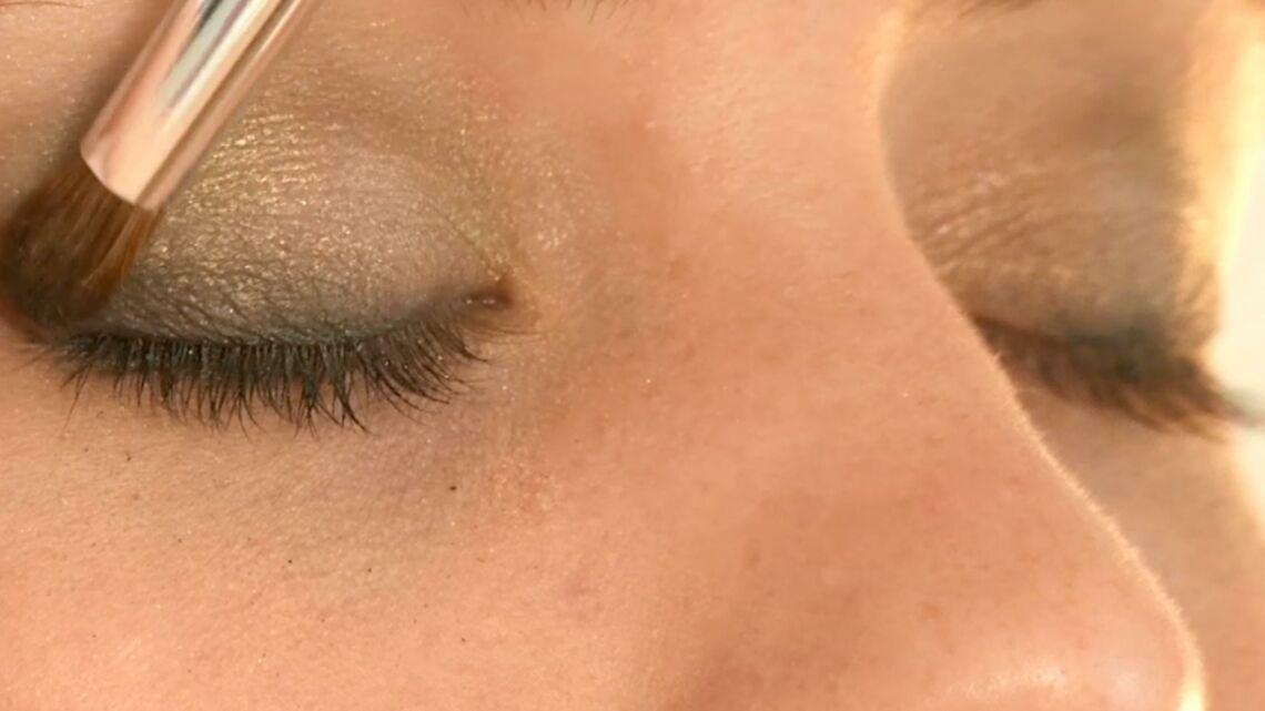 Vidéo – Un smoky-eye vert pour la Saint Valentin