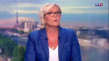 VIDEO – Marine Le Pen absente depuis sa défaite… la patronne du FN en avait plein le dos