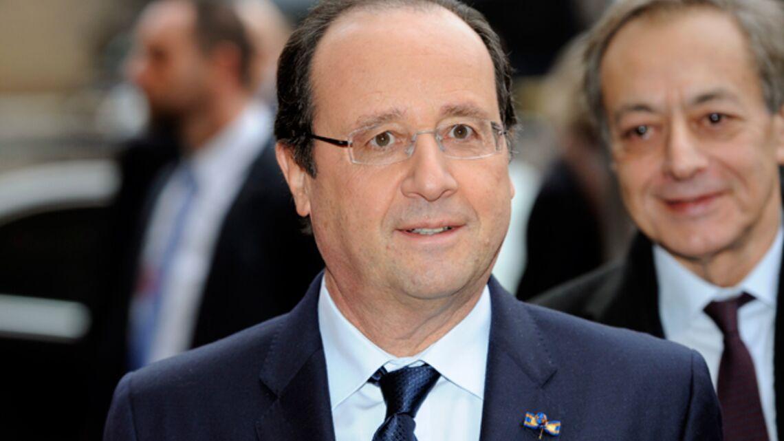 François Hollande: «Valérie Trierweiler va mieux»