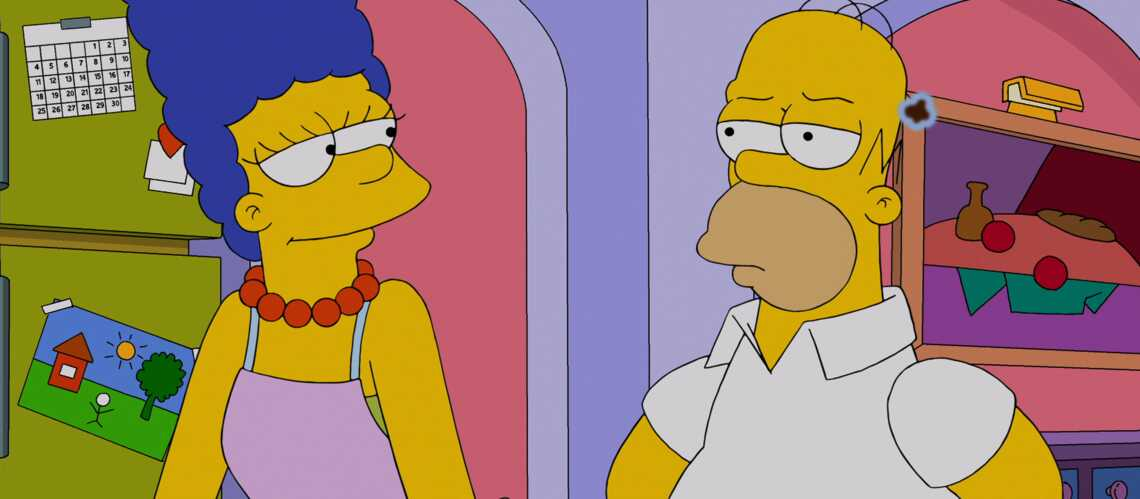 Marge Et Homer Simpson Plus Forts Que Les Rumeurs Gala