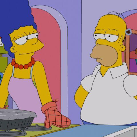 Marge et Homer Simpson, plus forts que les rumeurs