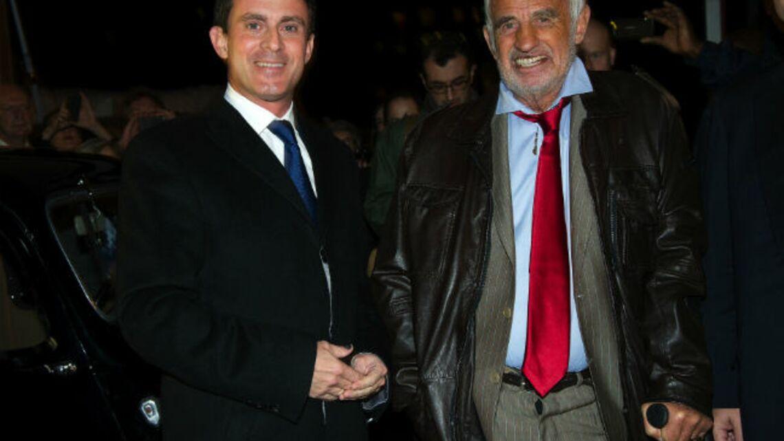 Vidéo- Manuel Valls et Jean-Paul Belmondo fêtent les 100 ans de la PJ