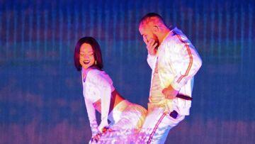 Vidéo – Rihanna et Drake recréent le clip de «Work» aux Brit Awards