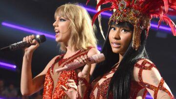 Vidéo- Taylor Swift et Nicky Minaj: copines comme coquines