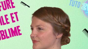 Vidéos- Des idées d'attaches pour cheveux longs