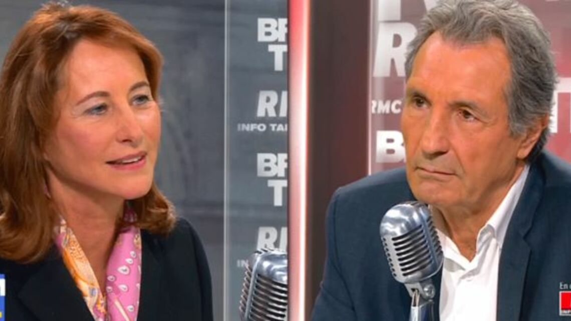VIDEO – Ségolène Royal remet à sa place Jean-Jacques Bourdin, ambiance glaciale sur le plateau