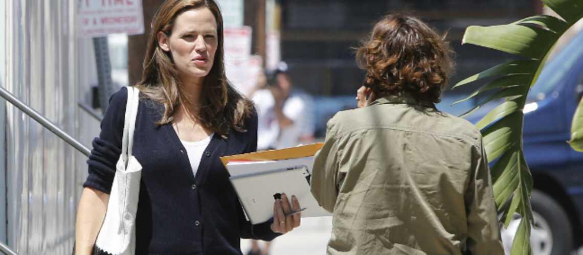 Jennifer Garner en tournage avec Al Pacino
