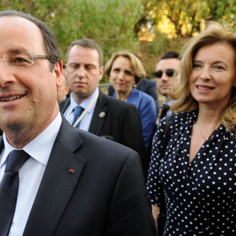 François Hollande et Valérie Trierweiller investissent la Lanterne