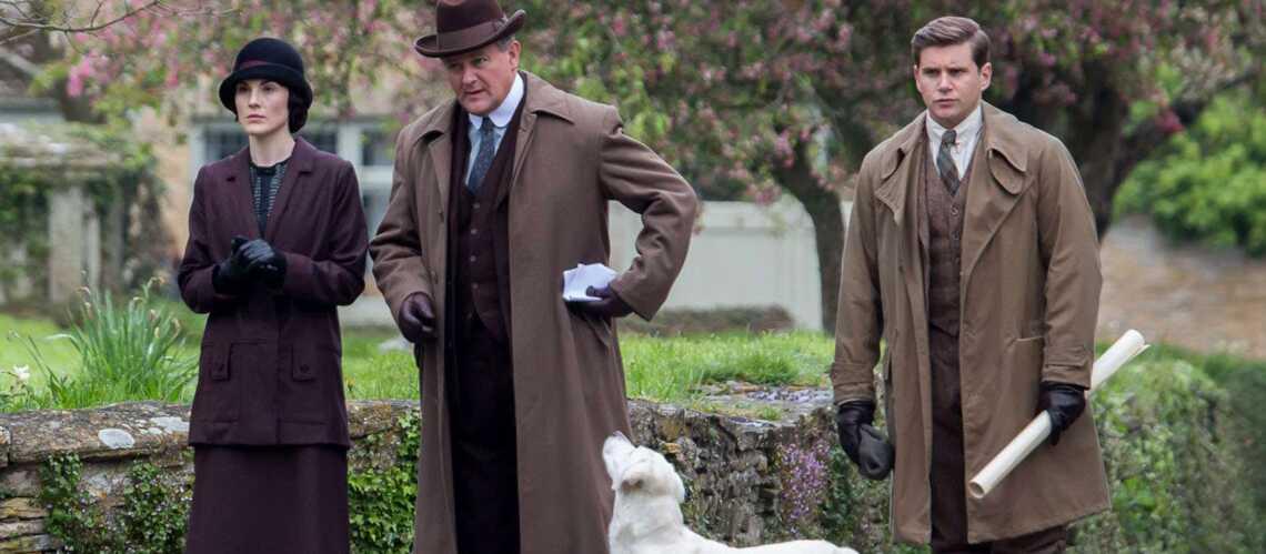 """""""Downton Abbey""""  pose ses valises à Poudlard"""