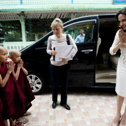 Angelina Jolie a rencontré Aung San Suu Kyi en Birmanie