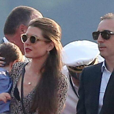 Charlotte Casiraghi et Gad Elmaleh: virée familiale avec Raphaël