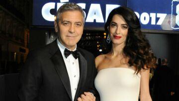 George et Amal Clooney les jeunes parents touchés par le sort des enfants syriens