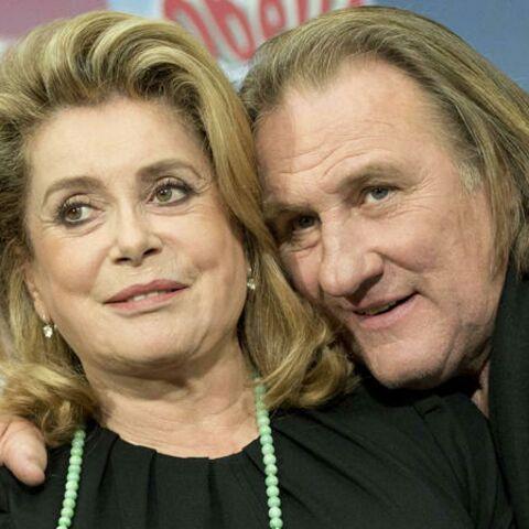 Catherine Deneuve et Gérard Depardieu: entre eux, rien ne va plus