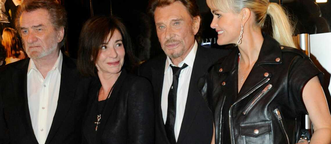 Gala By Night: Johnny et Laeticia Hallyday fêtent la sortie de Salaud on t'aime