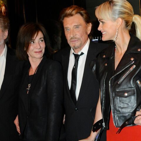 Gala By Night : Johnny et Laeticia Hallyday fêtent la sortie de Salaud on t'aime