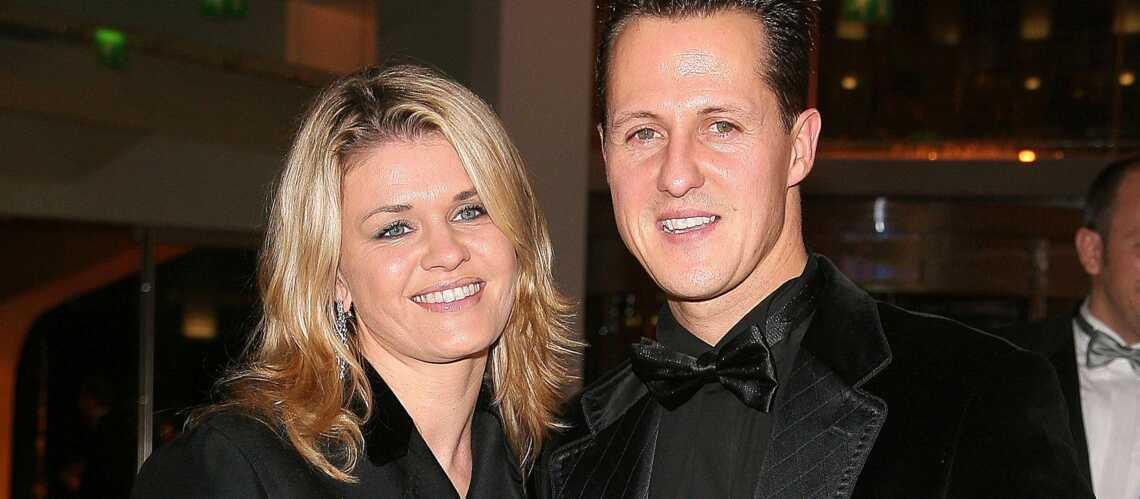 Corinna Schumacher refuse d'abandonner son mari