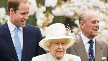 Le prince William, si proche de ses grands-parents