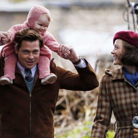 Photos – Marion Cotillard et Brad Pitt: ça tourne!