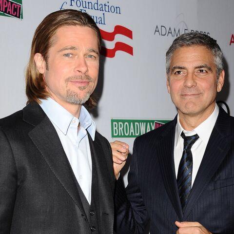 Brad Pitt et George Clooney: les amis se déchirent
