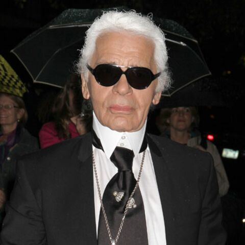 Karl Lagerfeld, un sosie pour le remplacer en soirée